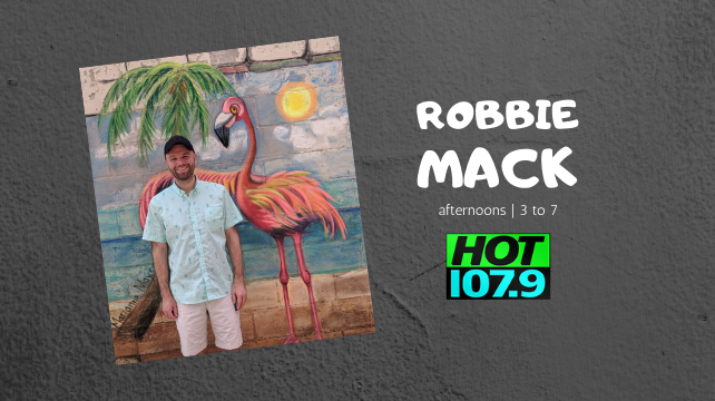 Robbie Mack – Afternoons on HOT 1079